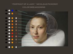 """The Limited Palette Workshop: """"Portrait of a Lady,"""" Color Breakdowns. Remember, Paintings from this Era often involved an underpainting & multiple layers of glazing. Painting People, Painting Tips, Painting & Drawing, Skin Palette, Color Mixing Guide, Anatomy Sculpture, Paint Prices, Colors For Skin Tone, Color Psychology"""