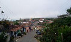 O arruado Street View, Serra Negra