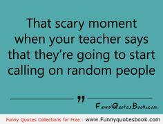 The Scary moment in Classroom