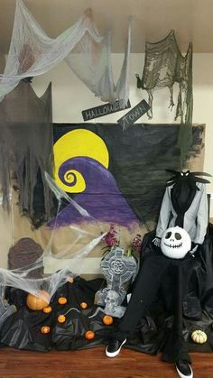 Nightmare Before Christmas Cubicle. | Decor in 2018 ...