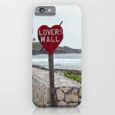 Lovers Wall, iPhone case by BACK to BASICS