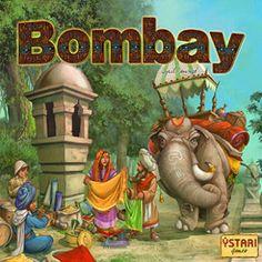 JEU - Bombay : jeu de société 2-5 joueurs +10 ans - Vous êtes un marchand cherchant la fortune sur les routes de l'Inde! À dos d'éléphant, parcourez le pays et amassez un véritable trésor en achetant les plus belles soieries pour les revendre au prix fort dans les villes. Bâtissez de magnifiques palais, choyez vos clientes, soignez votre renommée et vous deviendrez à coup sûr le plus riche marchand des Indes!
