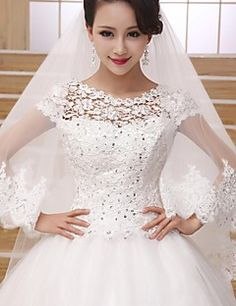 Wedding Veil Two-tier Fingertip Veils Lace Applique Edge. Get awesome discounts up to 70% Off at Light in the Box using Coupons.