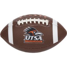 Rawlings University of Texas at San Antonio Air It Out Youth Football (Brown, Size ) - NCAA Licensed Product, NCAA Novelty at Academy Sports