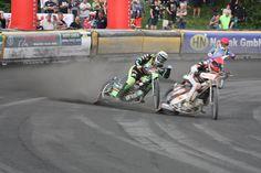 Finallauf - Motocross - Speedway - Rennsport Action auf dem Holsteinring am 28.08.2016