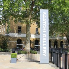A visit to the Saatchi Gallery is simply a must! The nearest tube is Sloane Square #London
