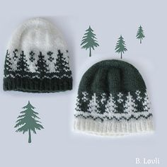Ravelry: Taiga Lue pattern by StrikkeBea Loom Knitting, Knitting Patterns Free, Knit Patterns, Free Knitting, Crochet Mittens, Knitted Hats, Knit Crochet, Pixel Crochet, Christmas Accessories