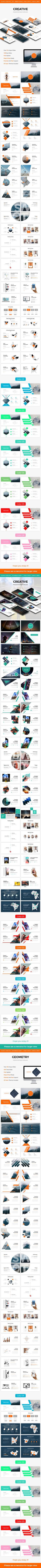 Bundle 3 in 1 Creative Powerpoint Template