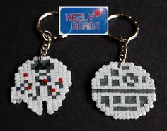 Star Wars keyrings perler beads by Kezly Beads