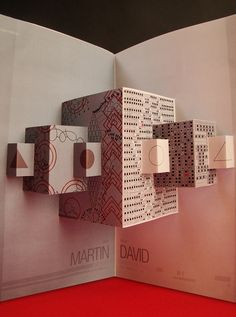 Pop up Book BY: Mariano Sidoni