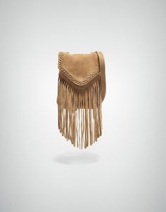 LEATHER BAG WITH FRINGES for Molly