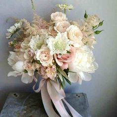 Bouquet rosa pesca - 7