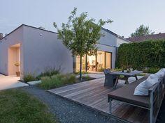 patchwork garten / 3:0 Landschaftsarchitektur / photo: Hertha Hurnaus Outdoor Spaces, Outdoor Living, Outdoor Decor, Indoor Outdoor, Modern Landscaping, Garden Landscaping, Deck Design, Home And Garden, Backyard