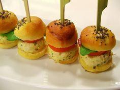 Piccoli hamburger di pollo, limone e senape | Alice.tv