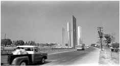 Las torres de Satélite, Estado de México.-1970s