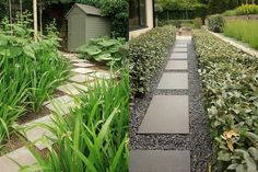 Anthony Paul is internationally renowned for his innovative and contemporary garden and landscape designs. Small City Garden, Small Gardens, Garden Stones, Garden Paths, Modern Garden Design, Landscape Design, Garden Seating, Outdoor Landscaping, Garden Inspiration