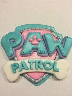 Paw Patrol Girls Cake Topper Set by NaomisSweetArt on Etsy