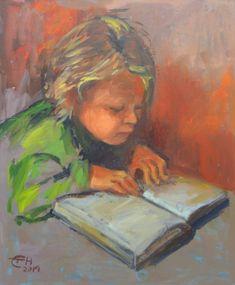 Original Portrait Painting by Ellen Fasthuber-huemer Oil On Canvas, Canvas Art, Original Paintings, Original Art, Photorealism, Buy Art, Saatchi Art, Modern Impressionism, The Originals