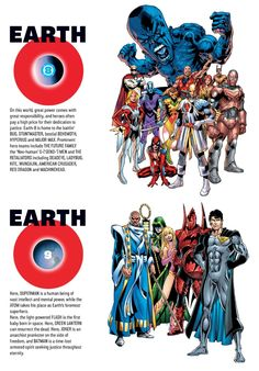 Earth-8 and Earth-9