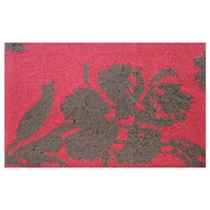 "I pinned this Toulouse 1'4"" x 2'3"" Rug in Red from the Welcoming Accents event at Joss and Main!#josscontest"