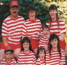 "They obviously were going for a ""Where's Waldo"" themed Christmas card"