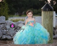 Mermaid Princess Tutu Dress
