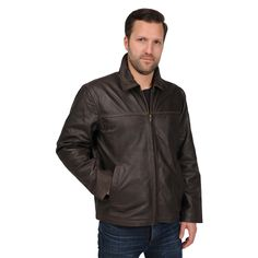 R&O Men's Rugged Open Bottom Jacket