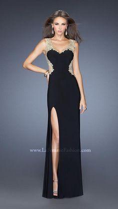 La Femme 19838   La Femme Fashion 2014 - La Femme Prom Dresses - La Femme Cocktail Dresses