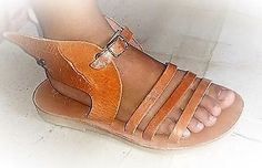 HERMES WINGS sandals kids, children pure leather sandals, women shoes sandals by ENOTIA on Etsy