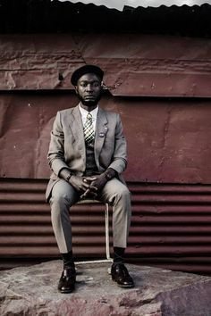 Namibia hipster style.  Loux, The Vintage Guru