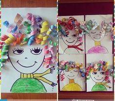 Kind Gifts: Creative Marathon – Challenge - Easy Crafts for All Kindergarten Art, Preschool Crafts, Fun Crafts, Paper Crafts, Projects For Kids, Diy For Kids, Art Projects, Crafts For Kids, Craft Kids