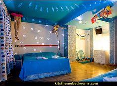 Swimming pool themed bedroom - swimming pool theme bedroom ideas