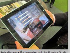 Casa high-tech, tudo via celular ou iPad.