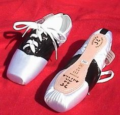 Creative pointe shoes...