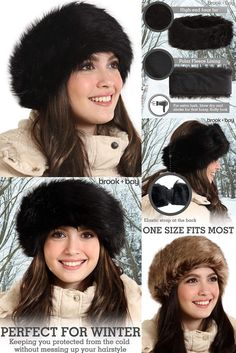Something Beautiful in Someone Quote Winter Earmuffs Ear Warmers Faux Fur Foldable Plush Outdoor Gift