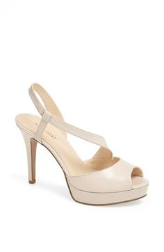 Nine West 'Carlacay' Wedge Sandal available at #Nordstrom