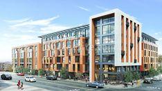 Condominium Architecture, Facade Architecture, Multi Storey Building, Residential Building Design, Urban Apartment, Building Facade, Aircraft Design, Facade Design, Affordable Housing