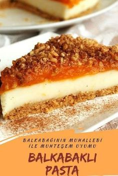 Muhallebili Balkabağı Pastası (videolu) – Nefis Yemek Tarifleri Pudding Pumpkin Pie (with video) # Muhallebilibalkabağıpasta of the the Easy Cheesecake Recipes, Cookie Recipes, Fish Recipes, Gourmet Recipes, Yummy Recipes, Paleo Snack, Dessert Mousse, Pecan Pie Filling, Turkish Recipes
