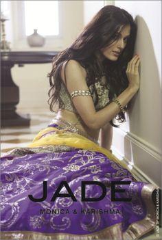 A Jade bridal lehenga