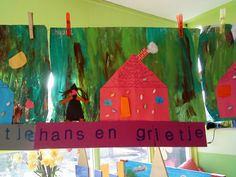 Juf Samantha: Een site vol lesideeën en meer! Preschool Crafts, Fairy Tales, Musicals, Witch, Christmas Ornaments, Holiday Decor, Disney, Painting, Art