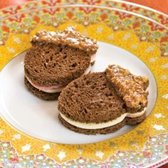 Nutty Ham and Cheese Tea Sandwiches