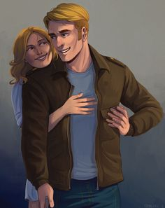 Sharon x Steve Why do I not mind this? <<< because it's cute. You just don't want to admit it. Sharon Carter, Peggy Carter, Agent Carter, Steven Grant Rogers, Steve Rogers, Marvel Dc, Marvel Comics, Marvel Couples, Scott Lang