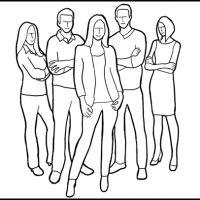 14 Posturas (poses) grupales – Una guía para mejorar tus fotografías de grupo « Aprende Fotografia Digital
