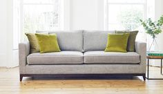 The Darwin Large Sofa is a spacious fabric sofa with a chic, modern design and comes in a range of fabrics and colours. Sofa Uk, Furniture, Top Sofas, Sofa Design, Contemporary Sofa, Sofa Buying Guide, Modern Sofas Uk, Furniture Design, Furniture Outlet