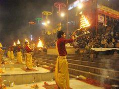 Mesmerizing Ganga 'aarti' in Patna