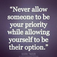 quotes about priorities Priorities Quote Your