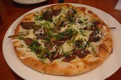 pizza de carne asada - Buscar con Google