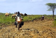 Motorcycle adventure in Tanzania. Overlanding at it's best. Travel to unknown destinations