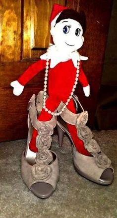 Elf on the Shelf Ideas (lots of photos) @Jennifer Milsaps L Poole good ones :) by tammy