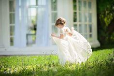 девочка, качели, лето, дество, цветы, ребенок, весн, летняя терраса